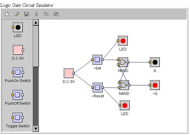 java logic circuit simulator applet rh alternate energy net Java Activity Diagram Java UML Class Diagram